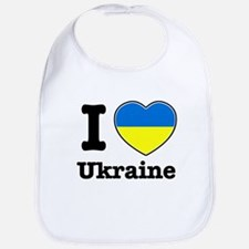 I love Ukraine Bib