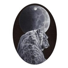 Silent Night Ornament (oval)