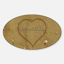 Esmeralda Beach Love Decal