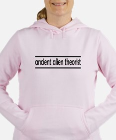 ancient alien theorist Women's Hooded Sweatshirt