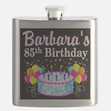 85 AND FABULOUS Flask