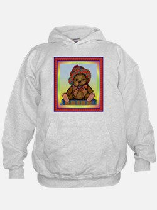 PLAID TEDDY BEAR Hoodie