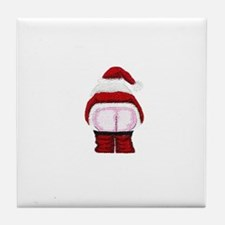 Santa Moon Tile Coaster