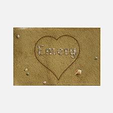 Emery Beach Love Rectangle Magnet