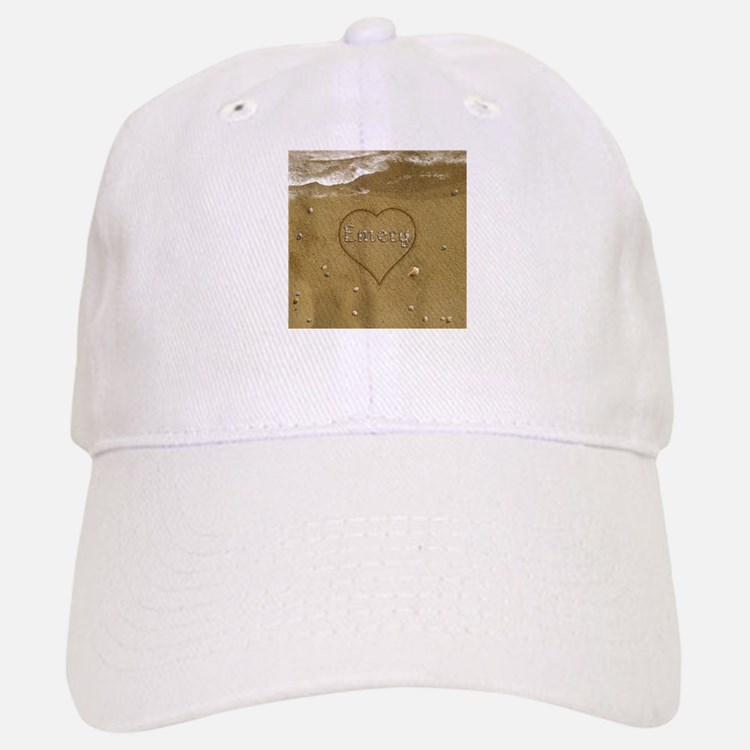 Emery Beach Love Baseball Baseball Cap