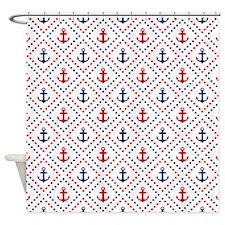 Diamond Anchor NR Shower Curtain