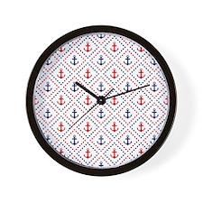 Diamond Anchor NR Wall Clock