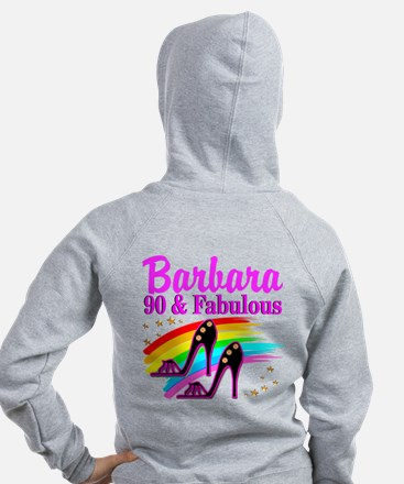 90 AND FABULOUS Zip Hoodie