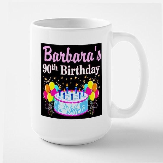 90TH CELEBRATION Large Mug