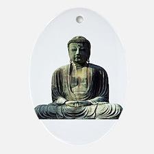 Great Buddha Oval Ornament