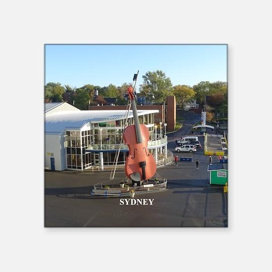 Sydney Fiddle Sticker