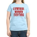 Luminol Ruined Everything Women's Light T-Shirt