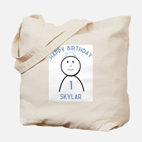 Happy B-day Skylar (1st) Tote Bag