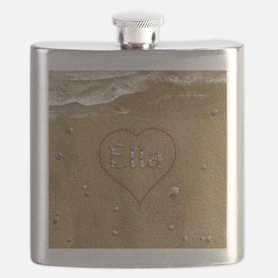 Ella Beach Love Flask