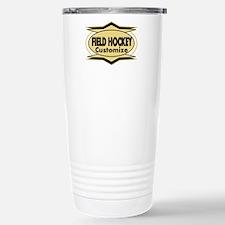 Field Hockey Star syliz Stainless Steel Travel Mug