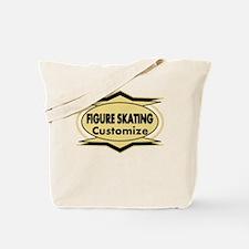 Figure Skating Star stylized Tote Bag