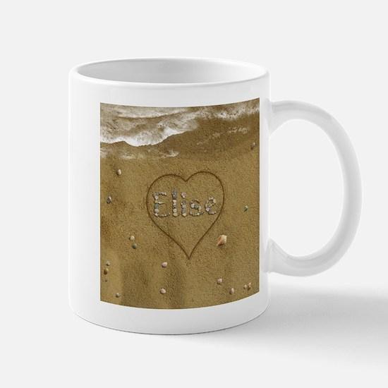 Elise Beach Love Mug