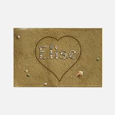 Elise Beach Love Rectangle Magnet