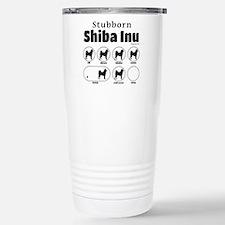Stubborn Shiba Inu 2 Travel Mug