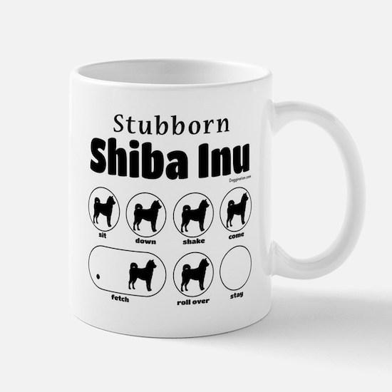 Stubborn Shiba Inu 2 Mug