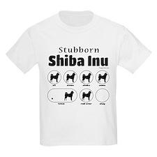Stubborn Shiba Inu 2 T-Shirt