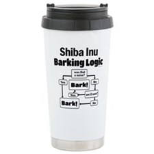 Shiba Inu Logic Travel Mug