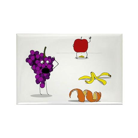 Fruit Murder Rectangle Magnet
