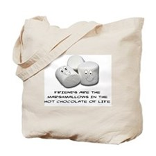 FRIENDS ARE THE MARSHMALLOWS Tote Bag