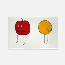 Apples and Oranges Rectangle Magnet