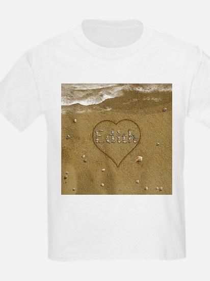 Edith Beach Love T-Shirt