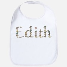 Edith Seashells Bib