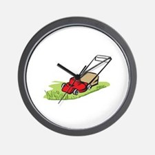 LAWNMOWER Wall Clock