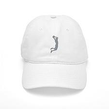 Slam Dunk Grey Baseball Baseball Cap