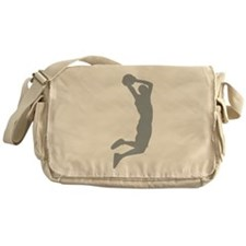 Slam Dunk Grey Messenger Bag