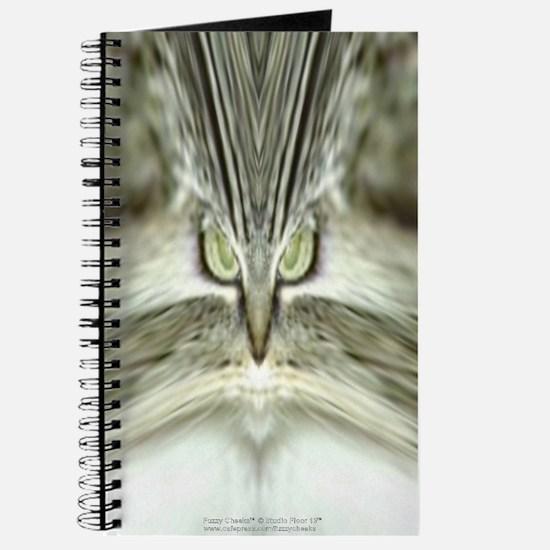 'Alien Tabby-Cat' Journal