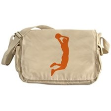 Slam Dunk Orange Messenger Bag