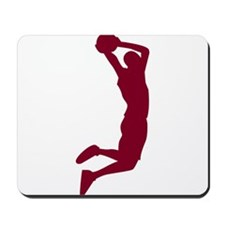 Slam Dunk Garnet Mousepad