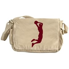 Slam Dunk Garnet Messenger Bag
