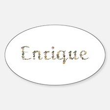 Enrique Seashells Oval Bumper Stickers