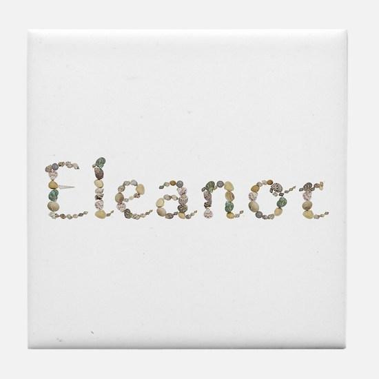 Eleanor Seashells Tile Coaster