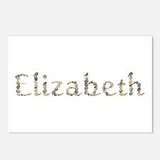 Elizabeth Seashells Postcards 8 Pack
