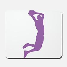 Slam Dunk Purple Mousepad