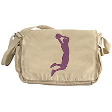 Slam Dunk Purple Messenger Bag
