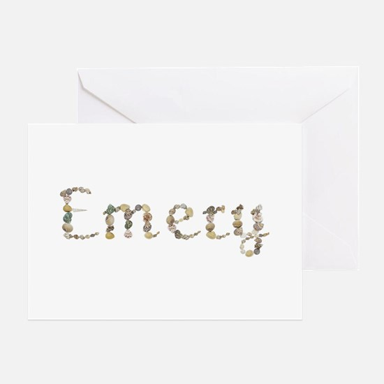 Emery Seashells Greeting Card