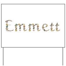 Emmett Seashells Yard Sign