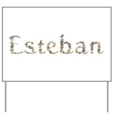 Esteban Seashells Yard Sign