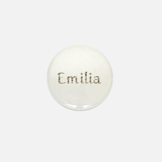 Emilia Seashells Mini Button