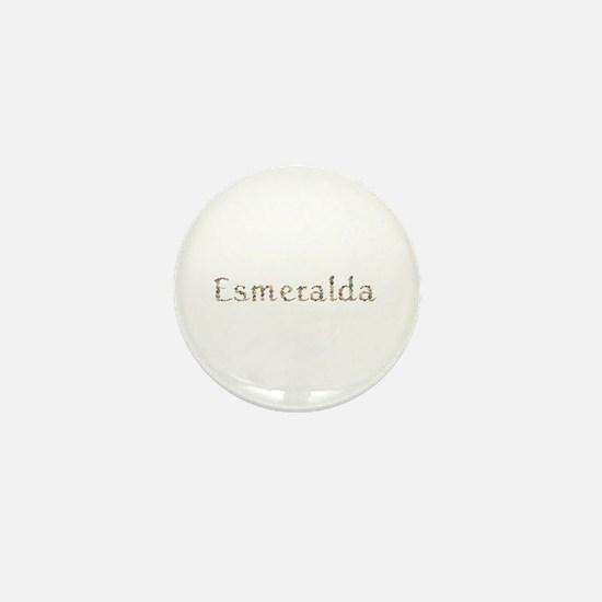 Esmeralda Seashells Mini Button