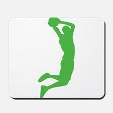 Slam Dunk Green Mousepad