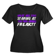 Two-Armed Freak Dark Plus Size T-Shirt